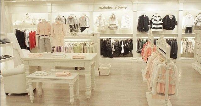 童装店如何装修才能够吸引住小孩?