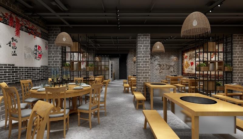 长沙火锅店装修中色彩设计中的常见问题