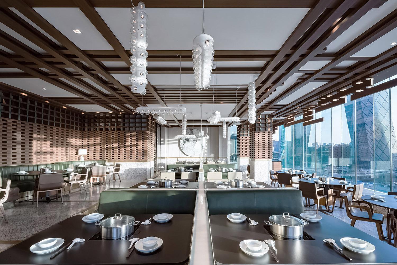 现代简约风格中餐厅